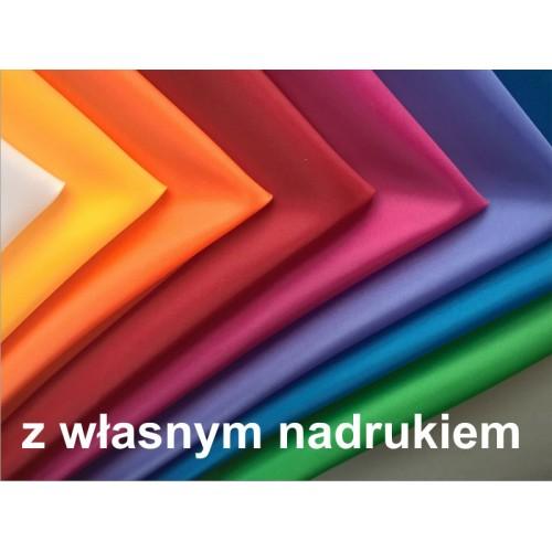 Bandanka apaszka z własnym nadrukiem 8 kolorów