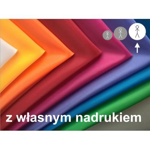 Chusta z nadrukiem dla młodzieży i dorosłych 8 kolorów