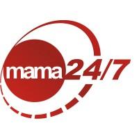 Koszulka dla Mamy MAMA 24/7 red