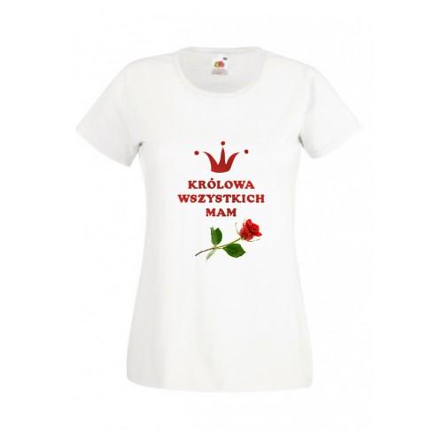 Koszulka dla Mamy Królowa Wszystkich Mam