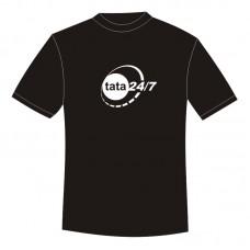 Koszulka TATA 24/7 czarna