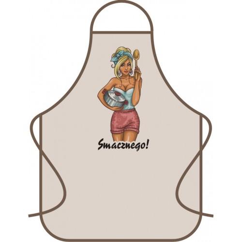 Fartuch kuchenny Smacznego!