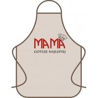 Fartuch kuchenny Mama gotuje najlepiej