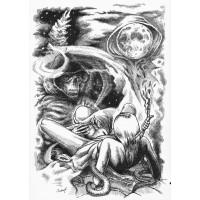 Koszulka EDGE - ilustracja wiersza SYLVII PLATH