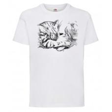 Koszulka Kot i pies dla dzieci