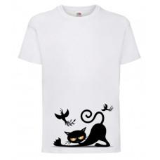 Koszulka Kot leżący dla dzieci