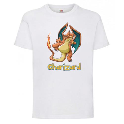 Koszulka Charizard Pokemony dla dzieci