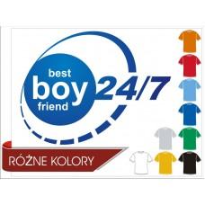 Koszulka Best Boyfriend 24/7 męska