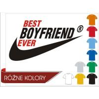 Koszulka Best Boyfriend Ever męska