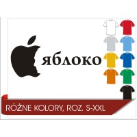 Koszulka Putin Apple parodia