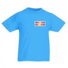 Koszulka z własnym logo kolorowa dziecięca