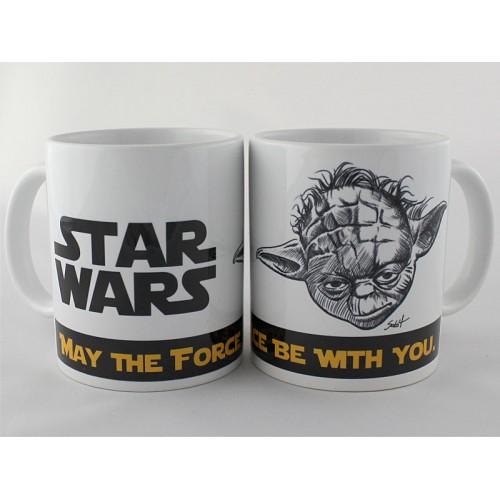 Kubek Gwiezdne Wojny Yoda 4