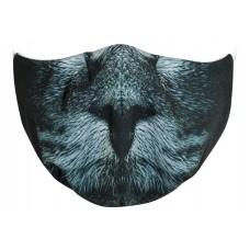 Maseczka ochronna wielorazowa kot