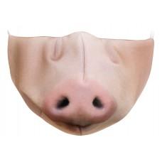 Maseczka ochronna wielorazowa świnka