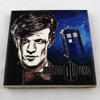 Podkładka ceramiczna pod kubek Doctor Who