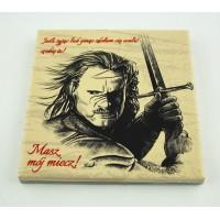 Podkładka ceramiczna pod kubek Aragorn