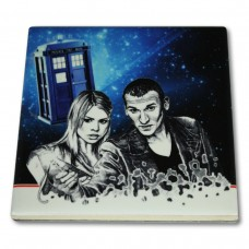 Podkładka ceramiczna pod kubek Doctor Who 9 Eccleston