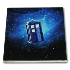 Podkładka ceramiczna pod kubek Doctor Who Tardis