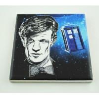 Podkładka ceramiczna pod kubek Doctor Who 11 Matt Smith