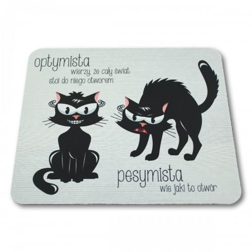 Podkładka pod mysz Dwa koty
