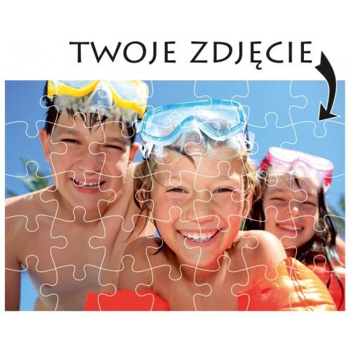Foto Puzzle zdjęcie 28x19cm/35 w pudełku