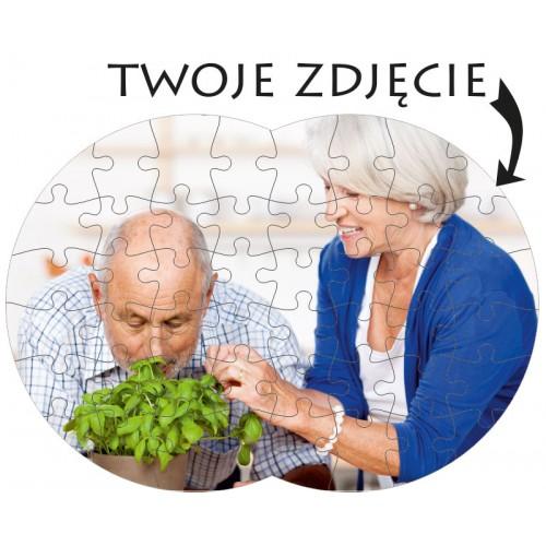 Foto Puzzle zdjęcie ósemka 30x20cm/48 w pudełku