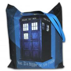 Torba impregnowana zapinana Doctor Who Tardis