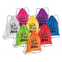 Plecak sportowy z własnym nadrukiem 8 kolorów