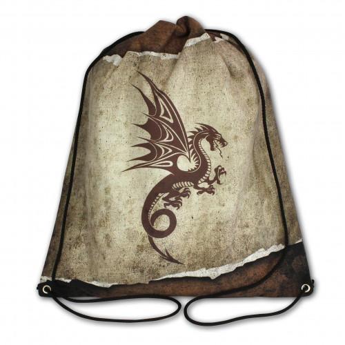 Worek/plecak impregnowany Brązowy Smok