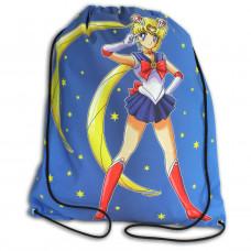 Worek/plecak impregnowany Czarodziejka z Księżyca