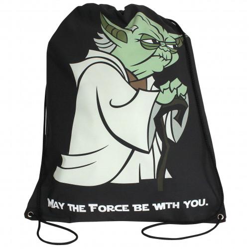 Worek/plecak impregnowany Gwiezdne Wojny Yoda