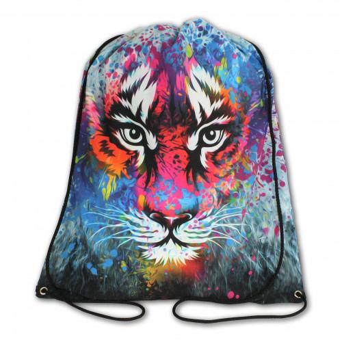 Worek/plecak impregnowany Kolorowy tygrys