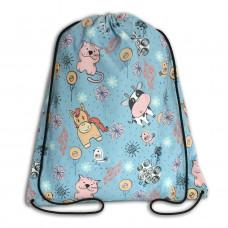 Worek/plecak impregnowany Konie Krowy Koty