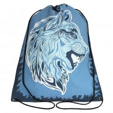 Worek/plecak impregnowany Wilk niebieski